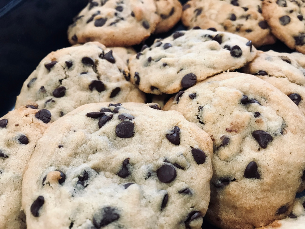 Clean Protein Chocolate Chip Cookies